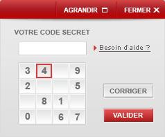 code secret SG