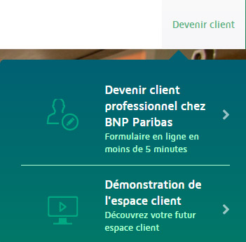inscription bnp pro en ligne