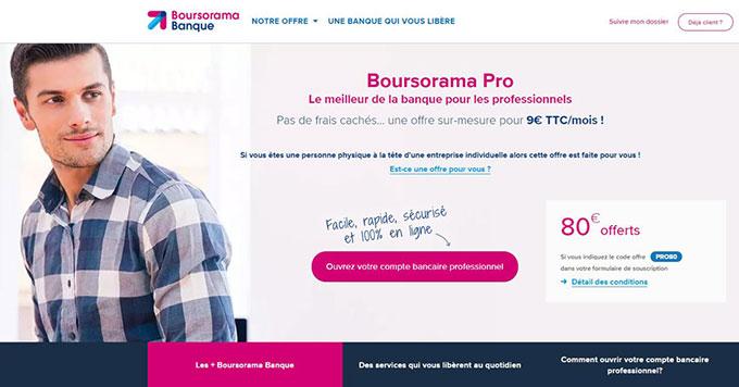 Boursorama pro