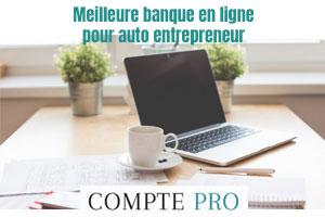Banque en ligne auto entrepreneur