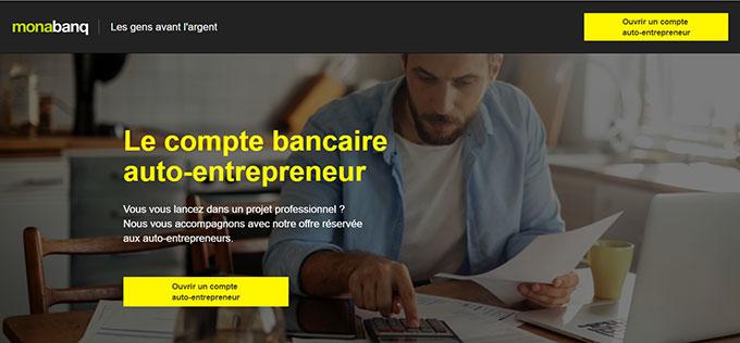 Monabanq autoentrepreneur