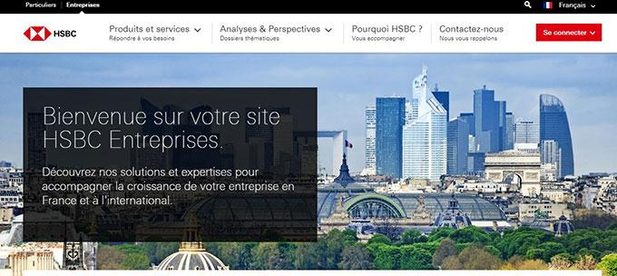 HSBC entreprise