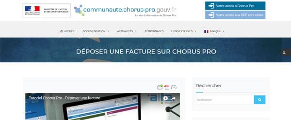 ouvrir compte Chorus pro