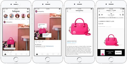 shopping instagram boutique en ligne