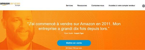 Fermer compte pro Amazon