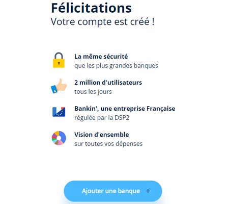 Bankin desktop
