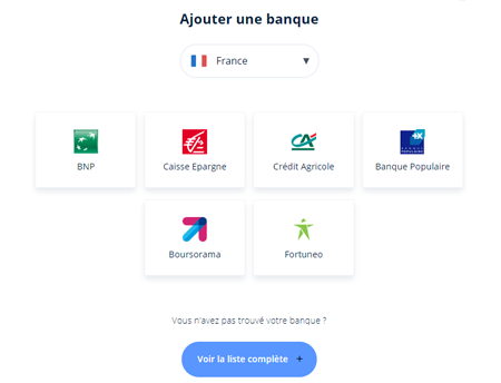 Application gestion du budget