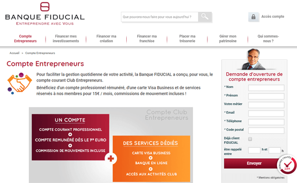 Banque fiducial agence
