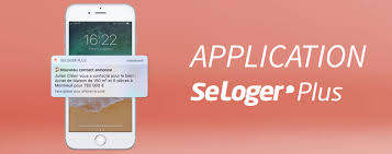 application mobile Seloger Plus