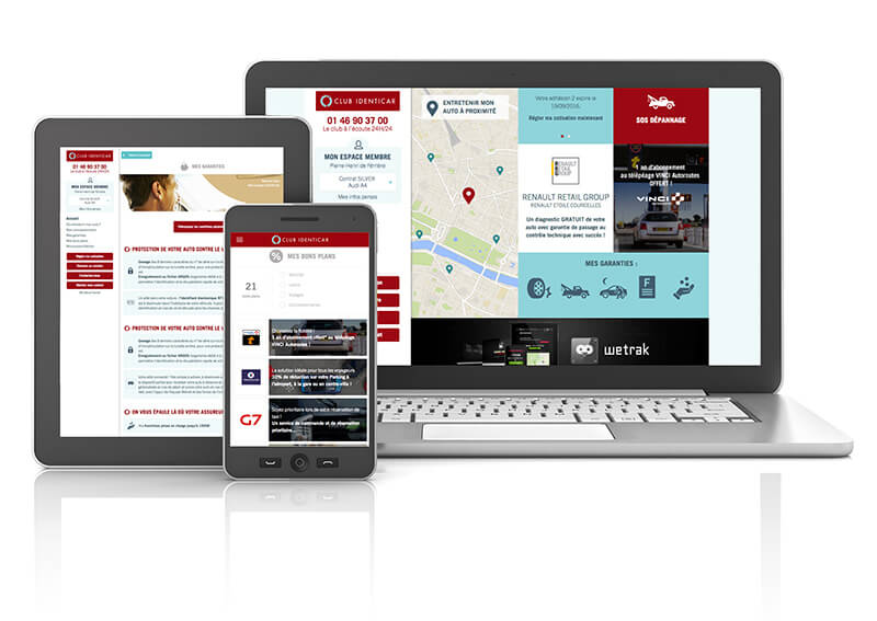 Application mobile Identicar